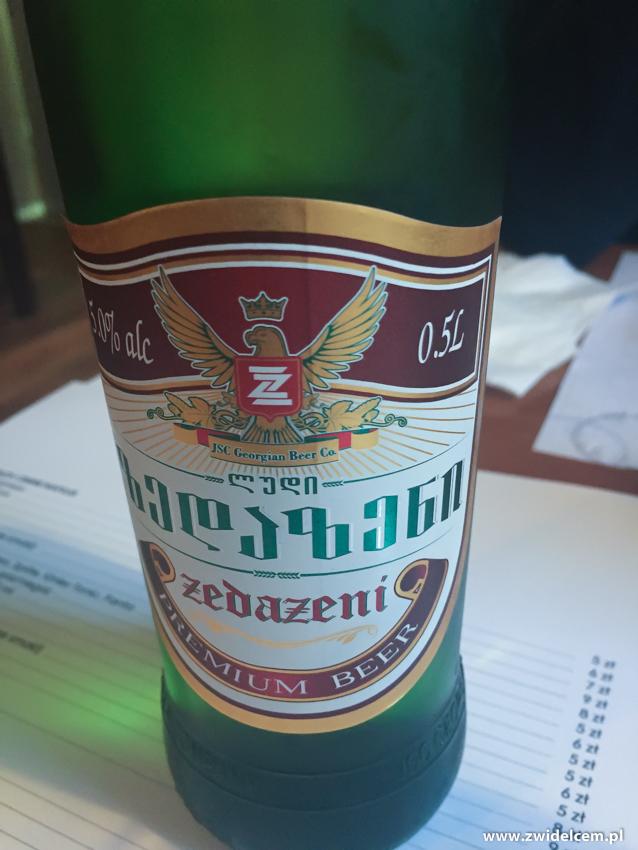Kraków - Tibilisuri - piwo gruzińskie