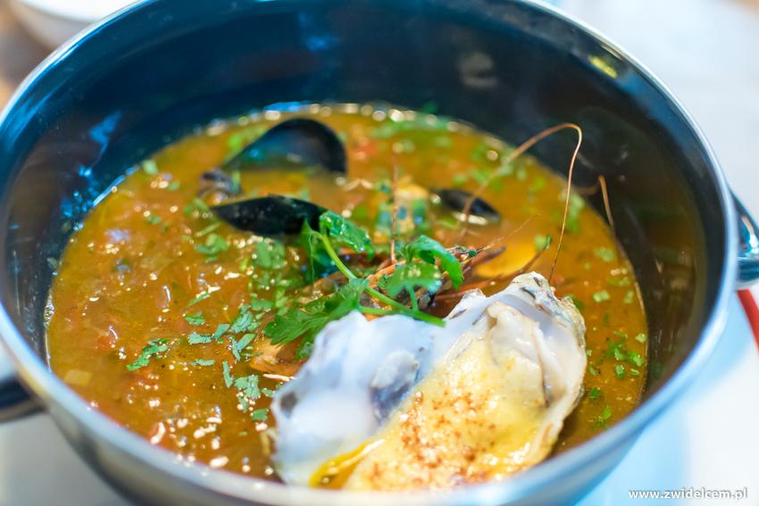 Kraków - Cargo - zupa rybna z ostrygą