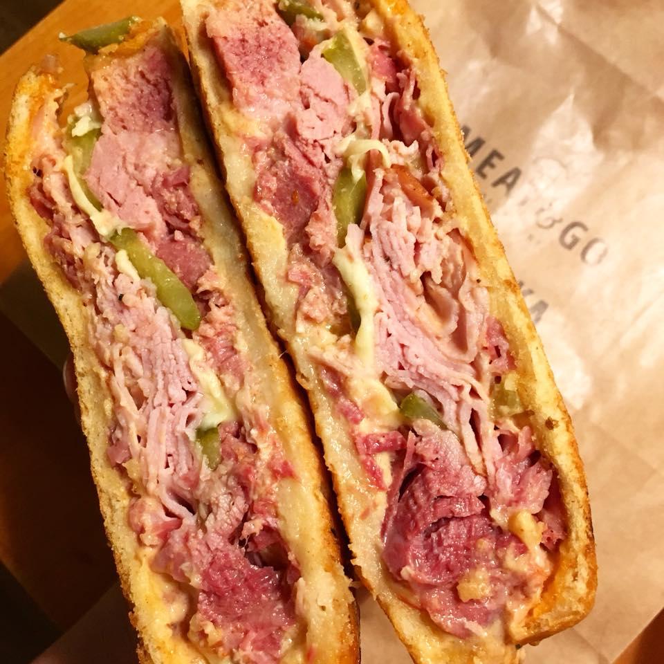 Meat&Go -kubańska kanapka - Kraków