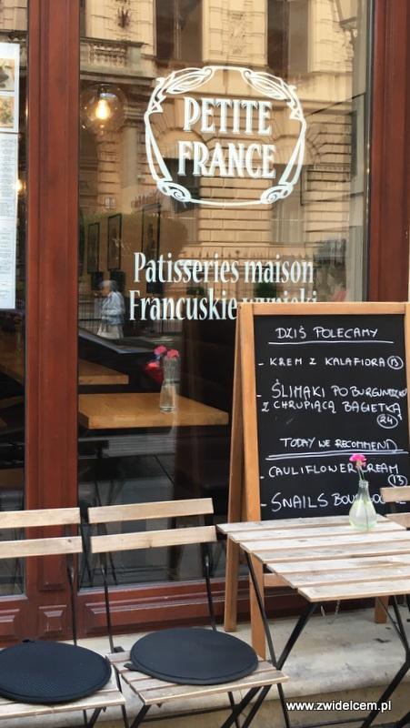 Kraków - La Petite France - witryna