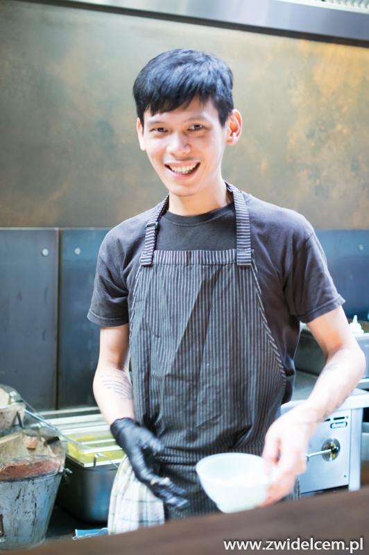 Kraków - Molam - kucharz z Tajlandii
